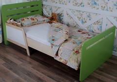 Фото IndigoWood Кровать подростковая без ящиков Colors