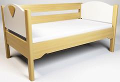 Фото Enran Кровать с ограждением Эльф 70x140