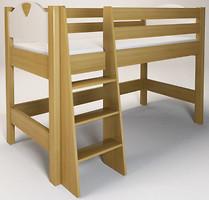 Фото Enran Кровать ярусная с лестницей Эльф 90x200