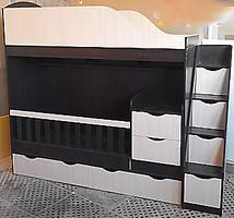 Фото Merabel Двухъярусная кровать-трансформер (ал15)