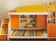 Фото Merabel Двухъярусная кровать (ал4)