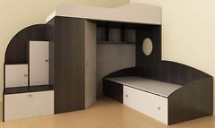 Фото Merabel Двухъярусная кровать (ат1)