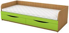 Фото ANT-mebel Кровать одноместная с ящиками КДО-001Я 80x190