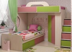 Фото Аззаре Dori 90x200 кровать-чердак