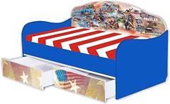 Фото Mebelkon Кроватка-диванчик Америка 80x170 с ящиком