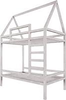 Фото Drevos Кроватка-домик двухъярусная Standart 80x150