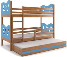 Фото BMS Group Двухъярусная Miko 80x160 с дополнительным спальным местом