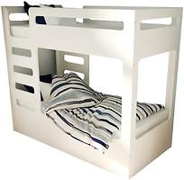 Фото IndigoWood Кровать двухъярусная Cubed 80x160 с ящиком