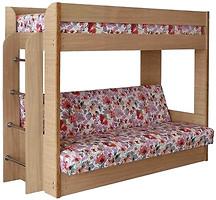 Фото Чердачок Двухъярусная кровать с диваном 90x200/120x190