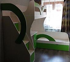 Фото Merabel Двухъярусная кровать с рабочей зоной (ал14-2)