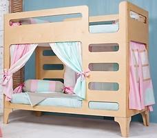 Фото IndigoWood Кровать двухъярусная Cubed 90x190