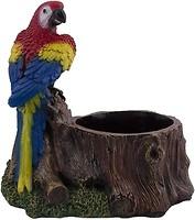 Фото Славянский Сувенир Пень с попугаем (4.146)