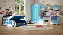 Фото Viorina-Deko Комплект Полиция 80x160 с подъемным механизмом