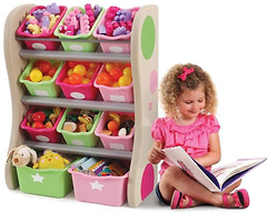 Фото Step2 Стеллаж для хранения игрушек 827400