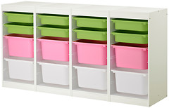 Фото IKEA ТРУФАСТ комод+контейнеры 498.575.43