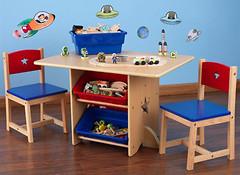 Фото KidKraft Столик со стульями 26912