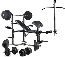 Фото Trex Sport 1020 скамья с тягой и приставкой Скотта