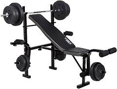 Фото Trex Sport 055 скамья + штанга 50 кг
