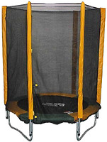 Фото Мастерская Волшебного Мира Батут 140 см с защитной сеткой