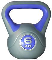 Фото LiveUp Plastic Kettel Bell (LS2047-6)