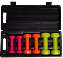 Фото PowerPlay Набор гантелей в кейсе 6 кг (4103)