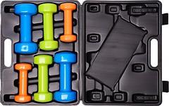 Фото PowerPlay Набор гантелей в кейсе 12 кг (4118)