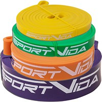 Фото SportVida Power Band набор 4 шт. (SV-HK004-3456)