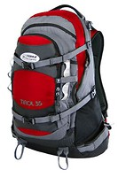 Фото Terra Incognita Tirol 35 red/grey