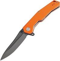 Фото Artisan Cutlery Zumwalt Black Blade D2 G10 Flat Orange (1808P-BOEF)