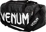 Фото Venum Sparring Sport Bag Black/White (02826)