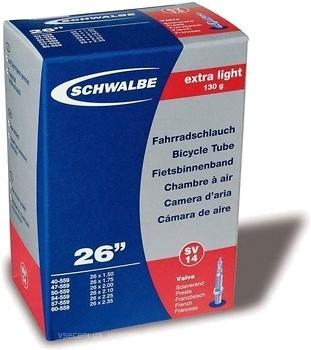 Фото Schwalbe SV14 Extra Light 26x1.50-2.35 (40/60x559) 40mm