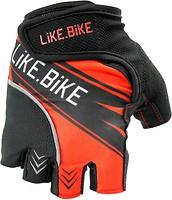 Фото Like.Bike Cycling Gloves Red