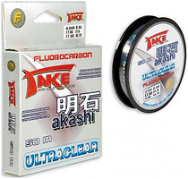 Фото Lineaeffe Take Akashi Ultraclear Fluorocarbon (0.4mm 100m 16kg) 3042240