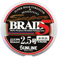 Фото Sunline Super Braid 5 (0.225mm 150m 11.6kg)