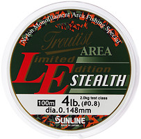 Фото Sunline Troutist Area LE Stealth (0.138mm 100m 1.75kg)