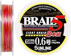 Фото Sunline Super Braid 5 (8 Braid) (0.225mm 150m 11.6kg) 16580857