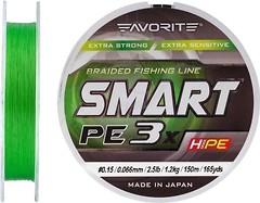 Фото Favorite Smart PE 3x L. Green (0.066mm 150m 1.2kg)