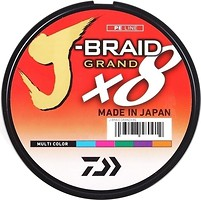 Фото Daiwa J-Braid Grand X8 Multicolor (0.13mm 150m 8.5kg)