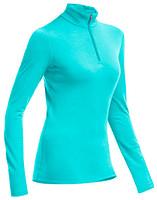 Фото Icebreaker Oasis Long Sleeve Half Zip Women 200 кофта