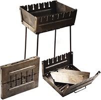 Фото Stenson Мангал-чемодан на 6 шампуров (УК-М6)