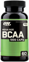 Фото Optimum Nutrition BCAA 1000 60 капсул