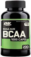 Фото Optimum Nutrition BCAA 1000 200 капсул