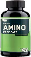 Фото Optimum Nutrition Superior Amino 2222 150 капсул