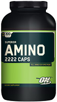 Фото Optimum Nutrition Superior Amino 2222 300 капсул