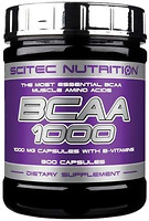 Фото Scitec Nutrition BCAA 1000 300 капсул