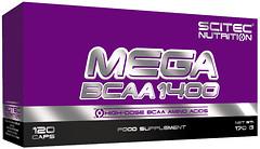 Фото Scitec Nutrition Mega BCAA 1400 120 капсул