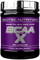 Фото Scitec Nutrition BCAA-X 330 капсул