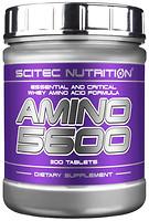 Фото Scitec Nutrition Amino 5600 200 таблеток