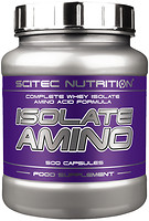 Фото Scitec Nutrition Isolate Amino 500 капсул
