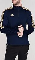 Фото Adidas спортивный костюм Sereno Pro Quarter Zip Navy/Orange